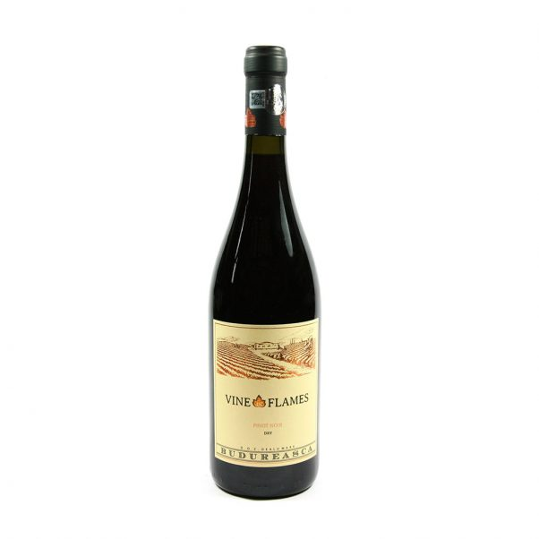 Romanian Wine | Pinot Noir | vine in fllames | mixed wine case deals | Lightfoot Wines