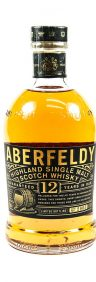 highland malt whisky - whiskey - scottish whisky - single malt 12 year old - dewar's distillery