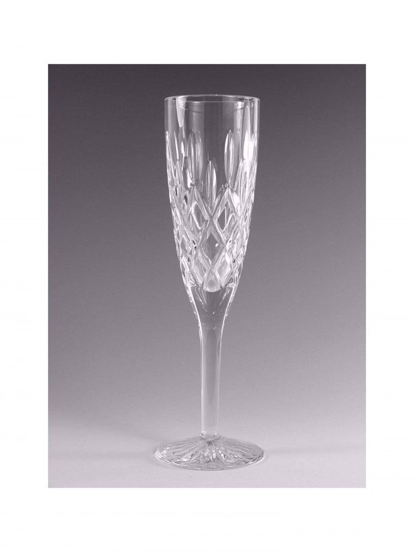 rare crystal | sparkling wine glass