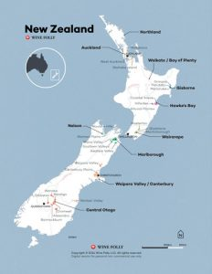 NEW ZEALAND WINE MAP | WINE FOLLY | NEW ZEALAND WINE REGIONS