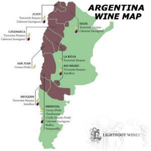 Best Malbec Wine | Argentina wine map | malbec wine