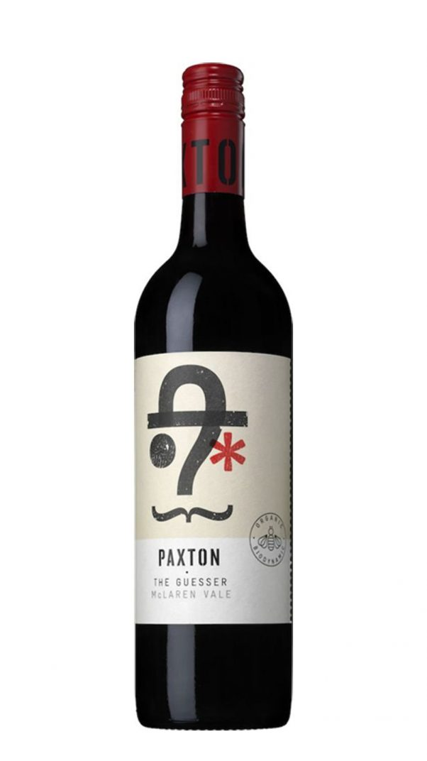 paxton the guesser red | organic wine | australian wine | lightfoot wines