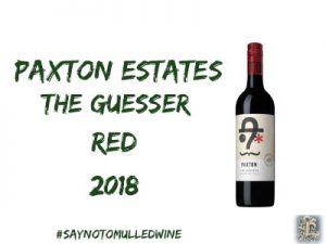 paxton the guesser | 12 wines of christmas | lightfoot wines