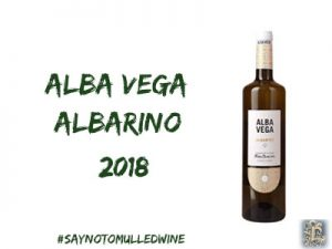 alba vega albarino | lightfoot wines | 12 wines of Christmas
