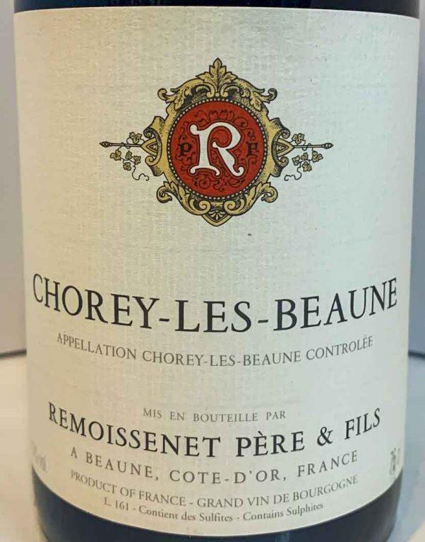chorey les beaune | remoissenet pere & fils | lightfoot wines
