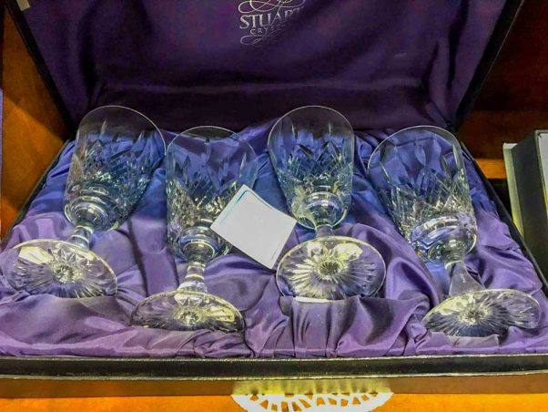 Stuart Crystal | premium wine glasses | collector's items