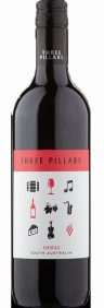 three pillars shiraz | australian red wine | lightfoot wines