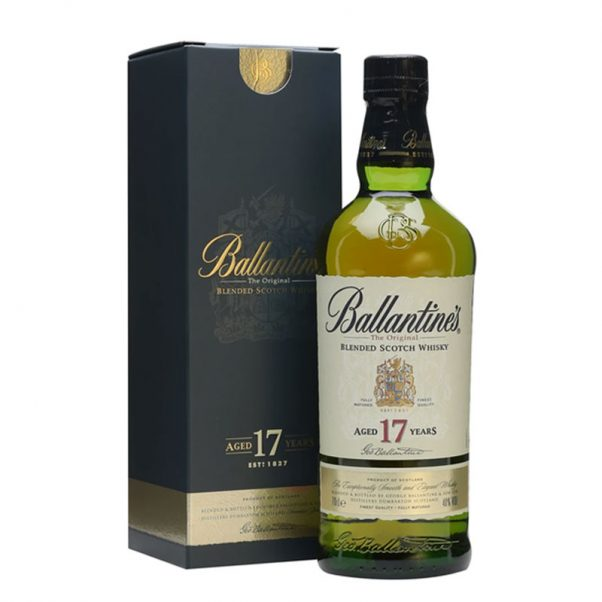 ballantines 17 | blended whisky | collector's whisky | ballantines whisky