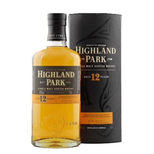 highland park 12 old bottle edition   rare whisky   highland single malt   lightfoot wines