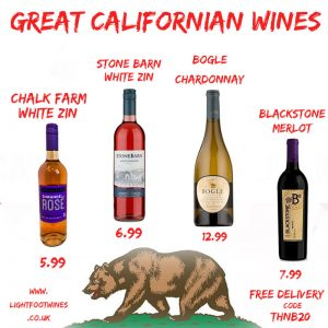 californian wine bargains | lightfoot wines | support independent business