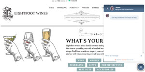 online wine shop | lightfoot wines | support local business