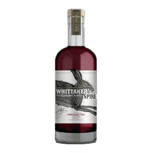 whittaker's very sloe gin | whittaker's gin | lightfoot wines