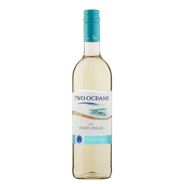 two oceans pinot grigio | lightfoot wines | south african pinot grigio